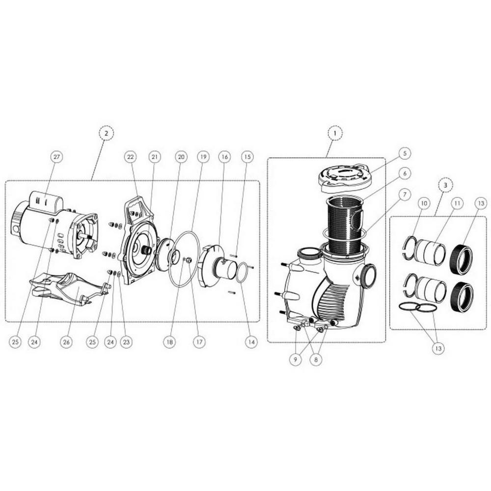 Pentair Intelliflo XF VSP Pump image