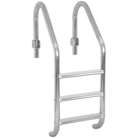 Inter-Fab - 3-Step Hinged Ladder with Sure-Step Tread - 311820