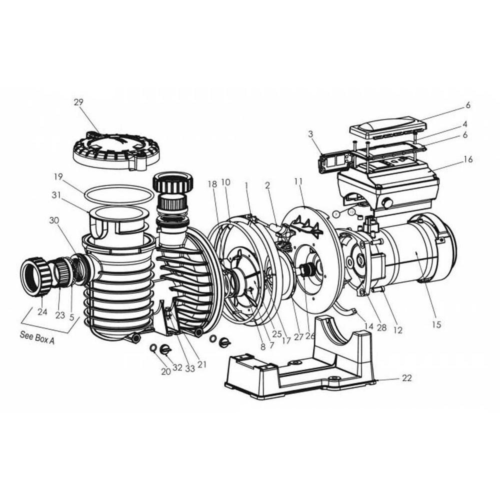 Sta-Rite IntelliPro Series IntelliPro VS 3050 Pump image