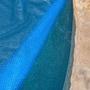 12' x 24' Oval Blue Solar Cover Three Year Warranty, 8 Mil