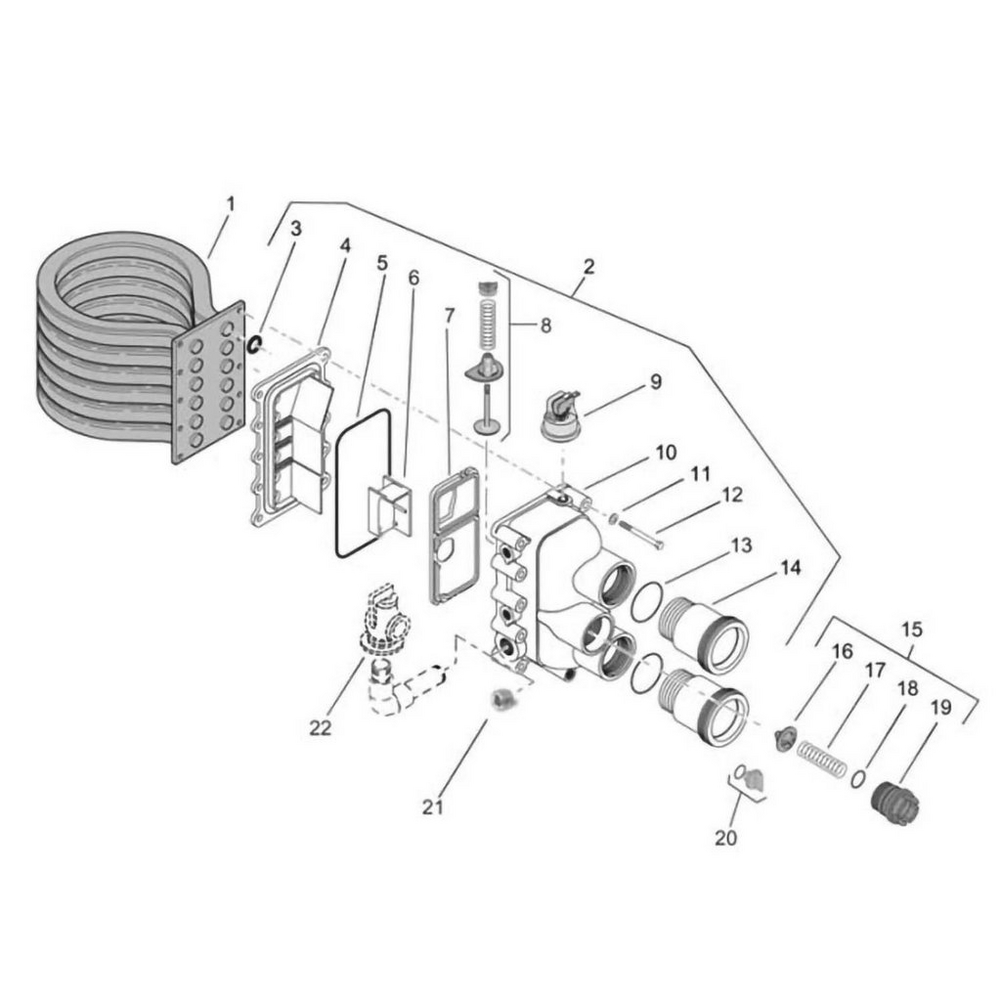 Pentair Heater MasterTemp Series Water System image