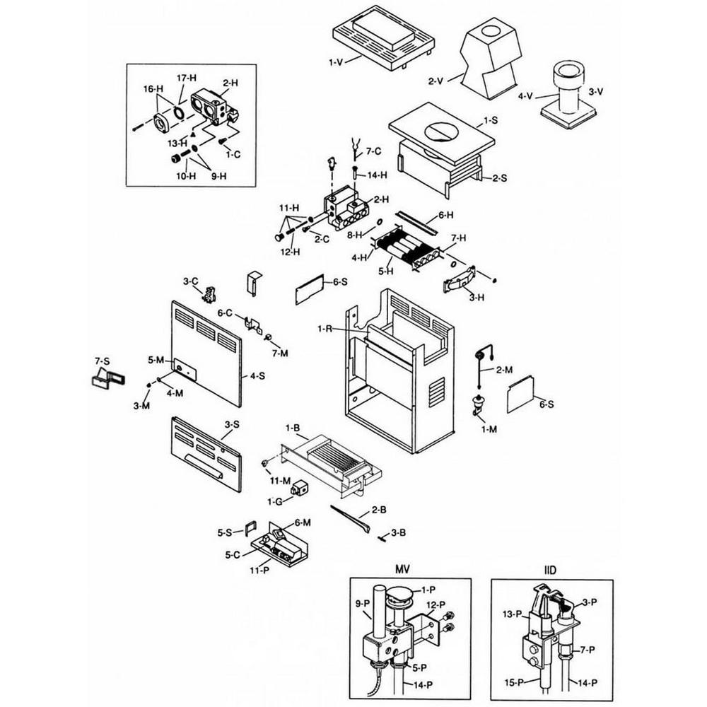 Raypak Heater 105 Series 105A Heater image
