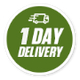 One Day Delivery Badge