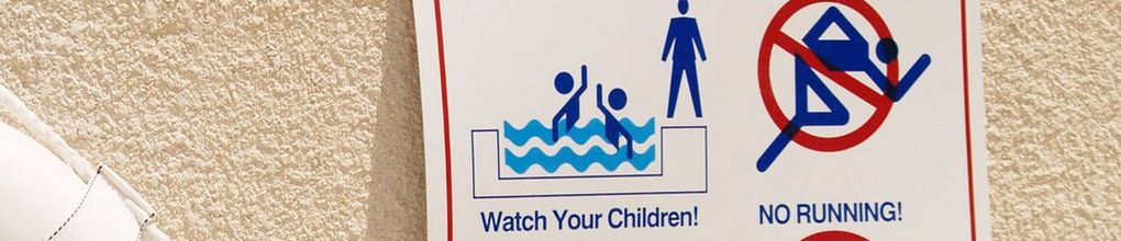 Shop Pool Safety Signs Decals