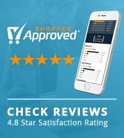 See our Shopper Approved Ratings