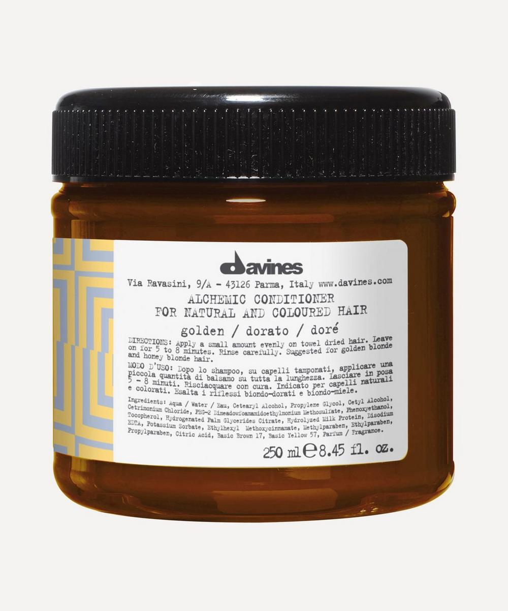Davines - Alchemic Conditioner in Golden 250ml