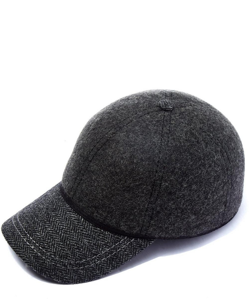 Christys' -  British Ball Wool Tweed Cap