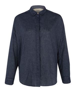 Delima Stripe Woven Cotton Shirt