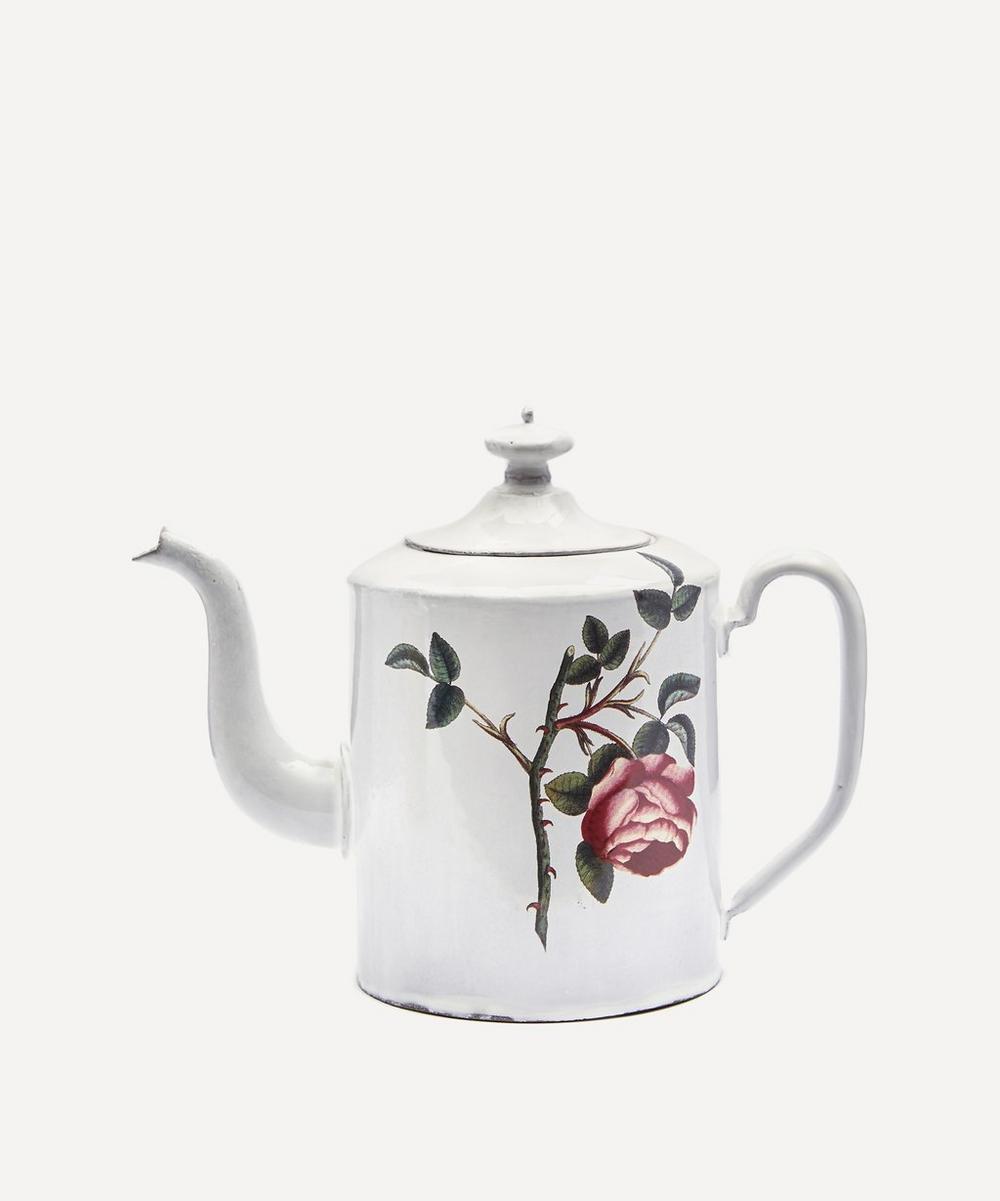 Astier de Villatte - Rosa Centilolia Teapot
