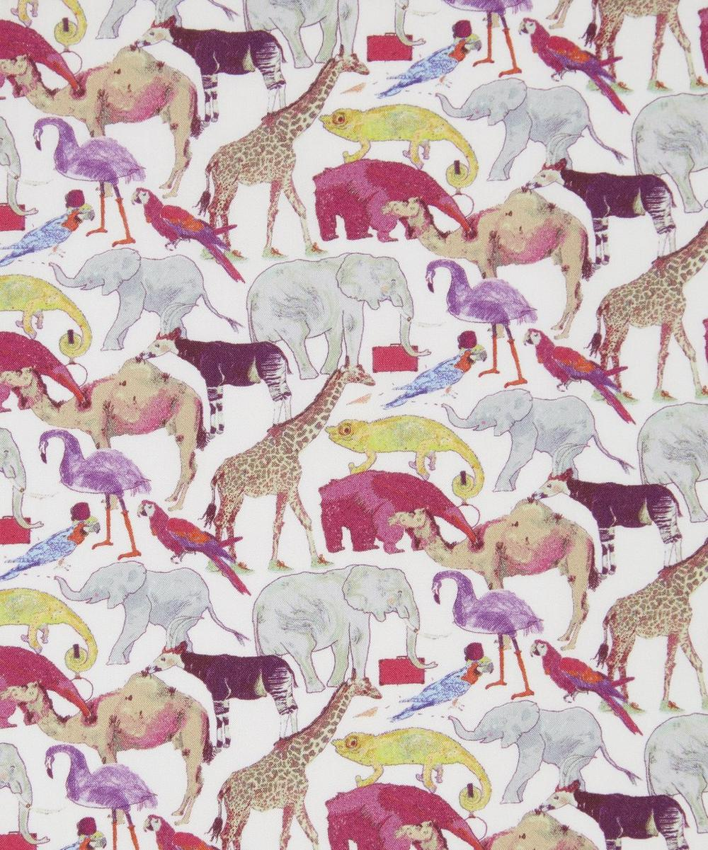 Liberty Fabrics - Queue for the Zoo Tana Lawn™ Cotton