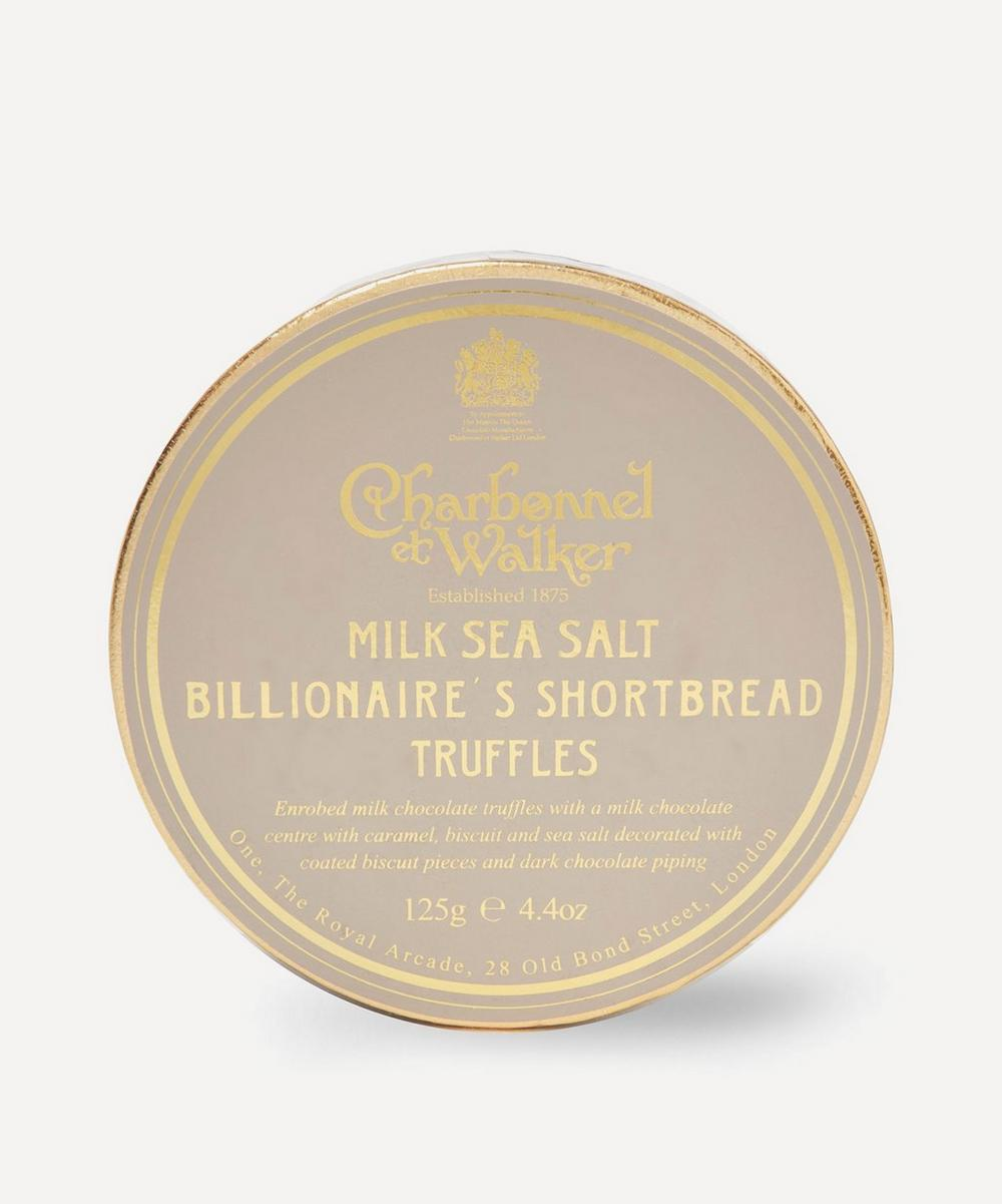 Charbonnel et Walker - Milk Sea Salt Billionaire's Shortbread Truffles 125g