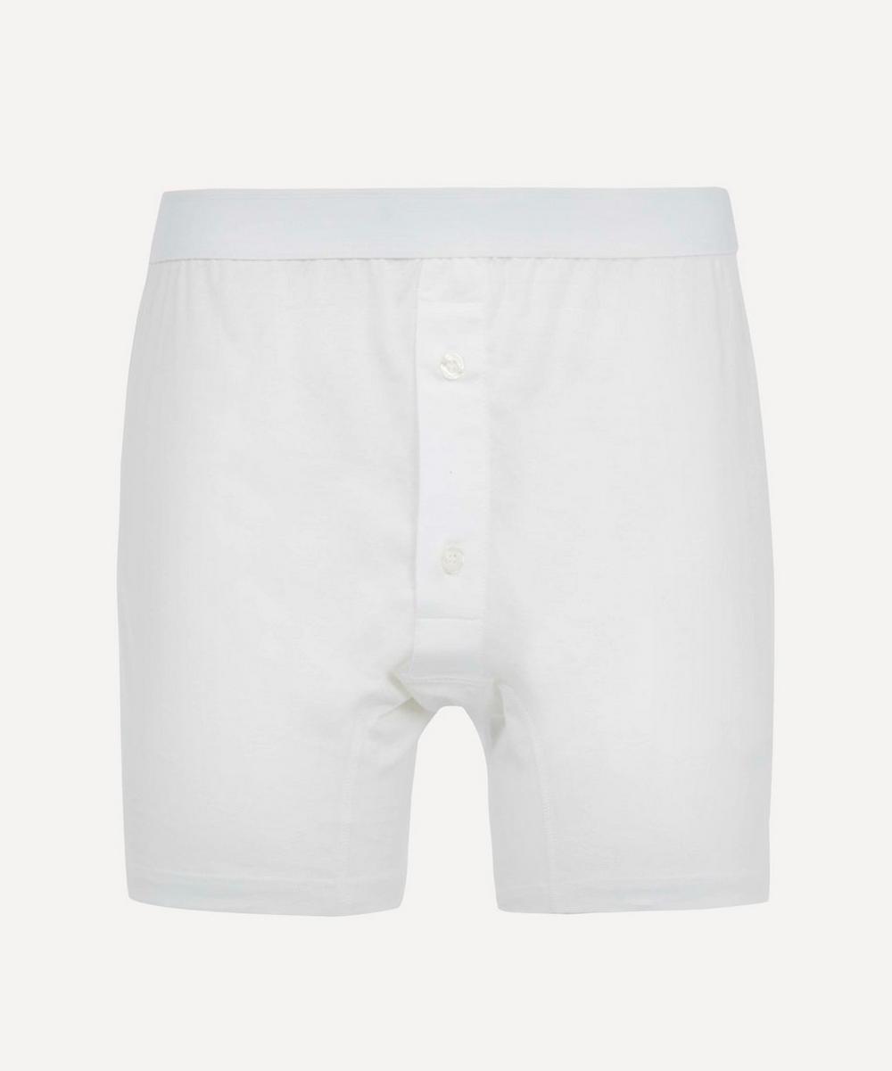 Sunspel - Two-Button Superfine Cotton Boxer