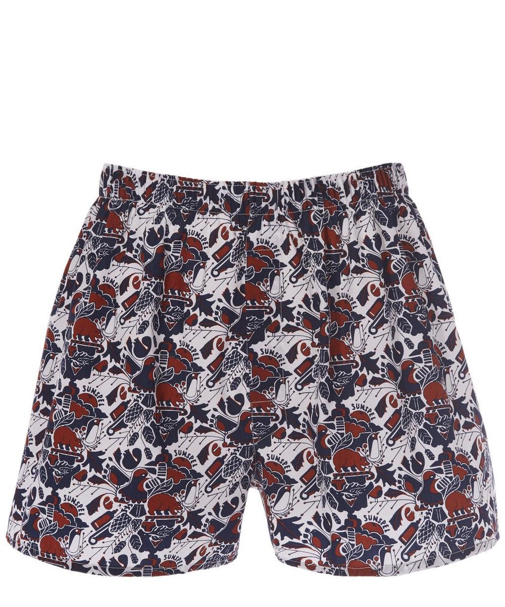 Sunspel - Print Boxer Shorts