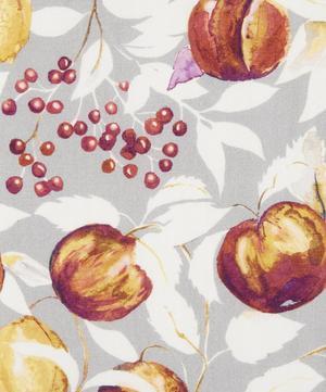 Fruit Billett Linen Viscose in Grey Berry