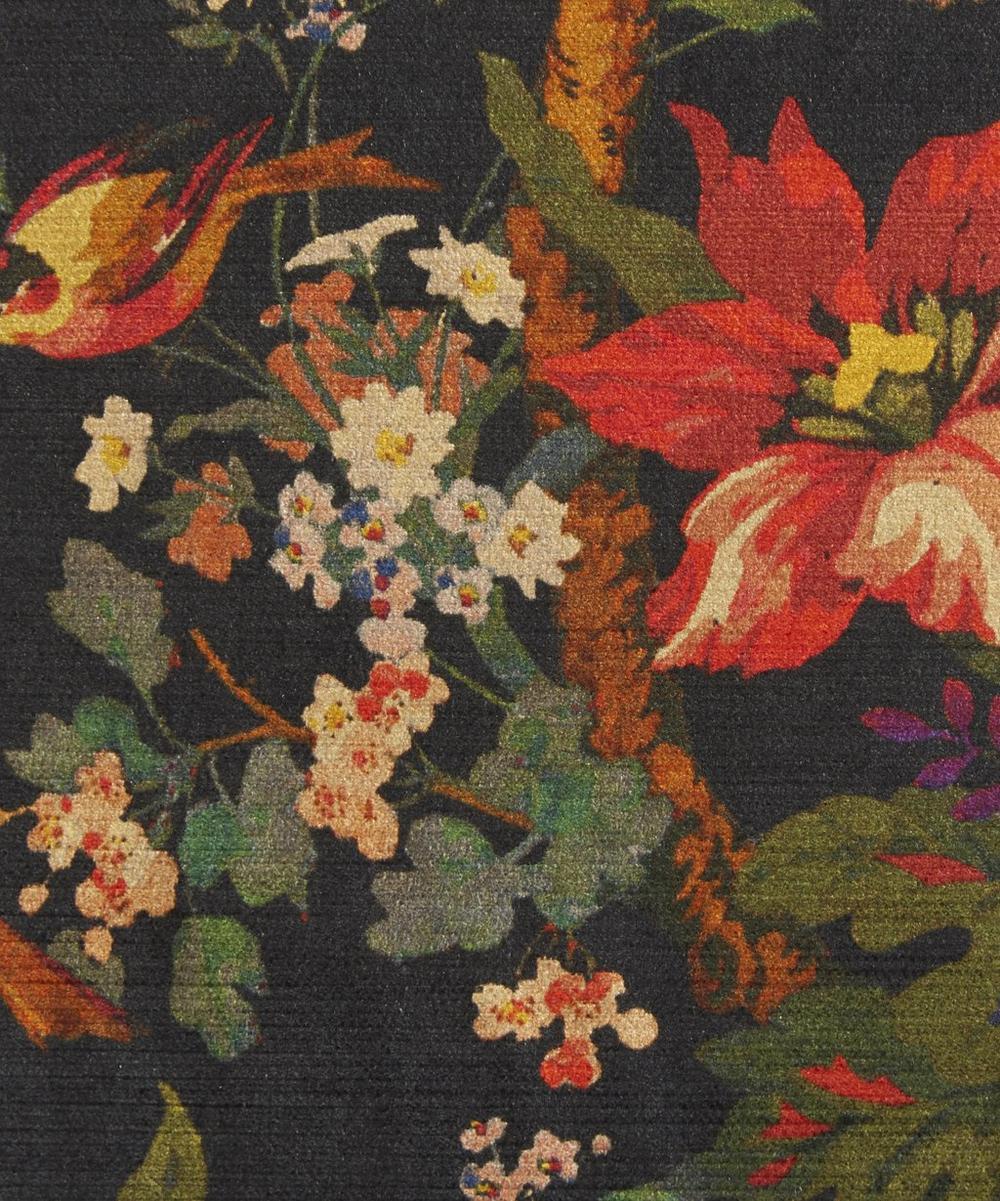 Liberty Fabrics Interiors - Lady Kristina Vintage Velvet in Film Noir