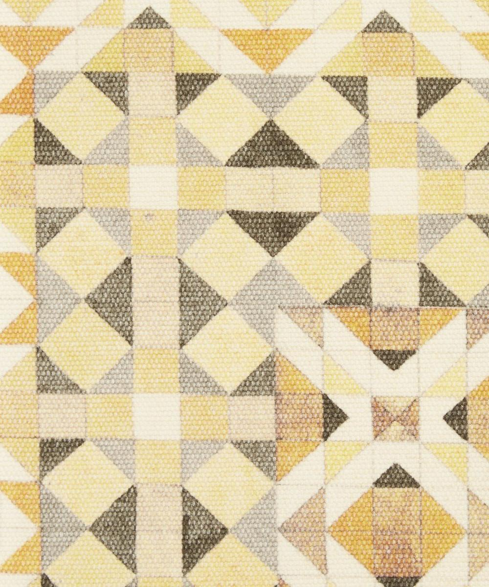 Liberty Fabrics Interiors - Parquet Simon Brushed Cotton Mogani in Sunlight