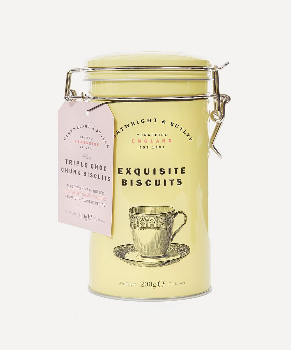 Cartwright & Butler - Exquisite Triple Chocolate Chunk Biscuits 200g