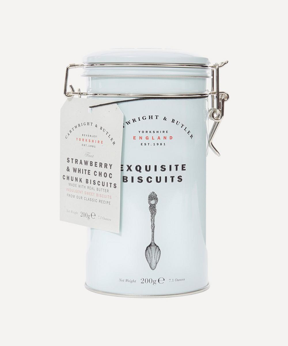 Cartwright & Butler - Cartwright & Butler Exquisite Strawberry and White Chocolate Chunk Biscuits 200g