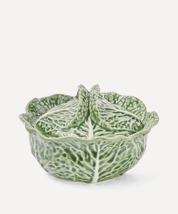 Bordallo Pinheiro -  Cabbage Earthenware Bowl