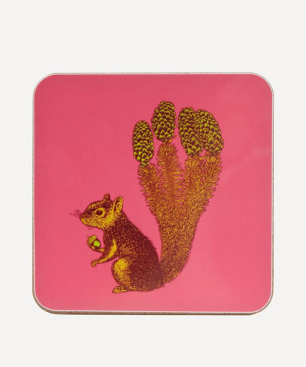 Avenida Home - Puddin' Head Squirrel Coaster