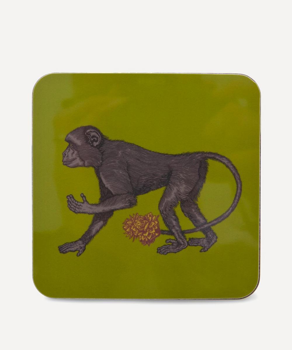 Avenida Home - Puddin' Head Monkey Coaster