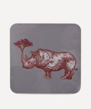 Puddin' Head Rhino Coaster