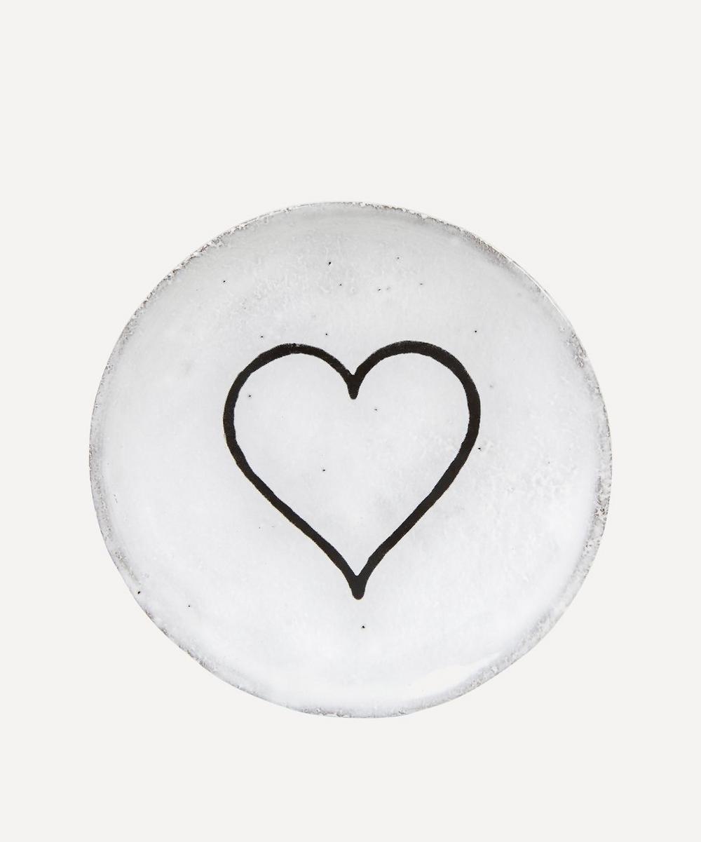 Astier de Villatte - Heart Outline Saucer