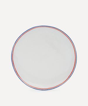 Tricolore Dinner Plate