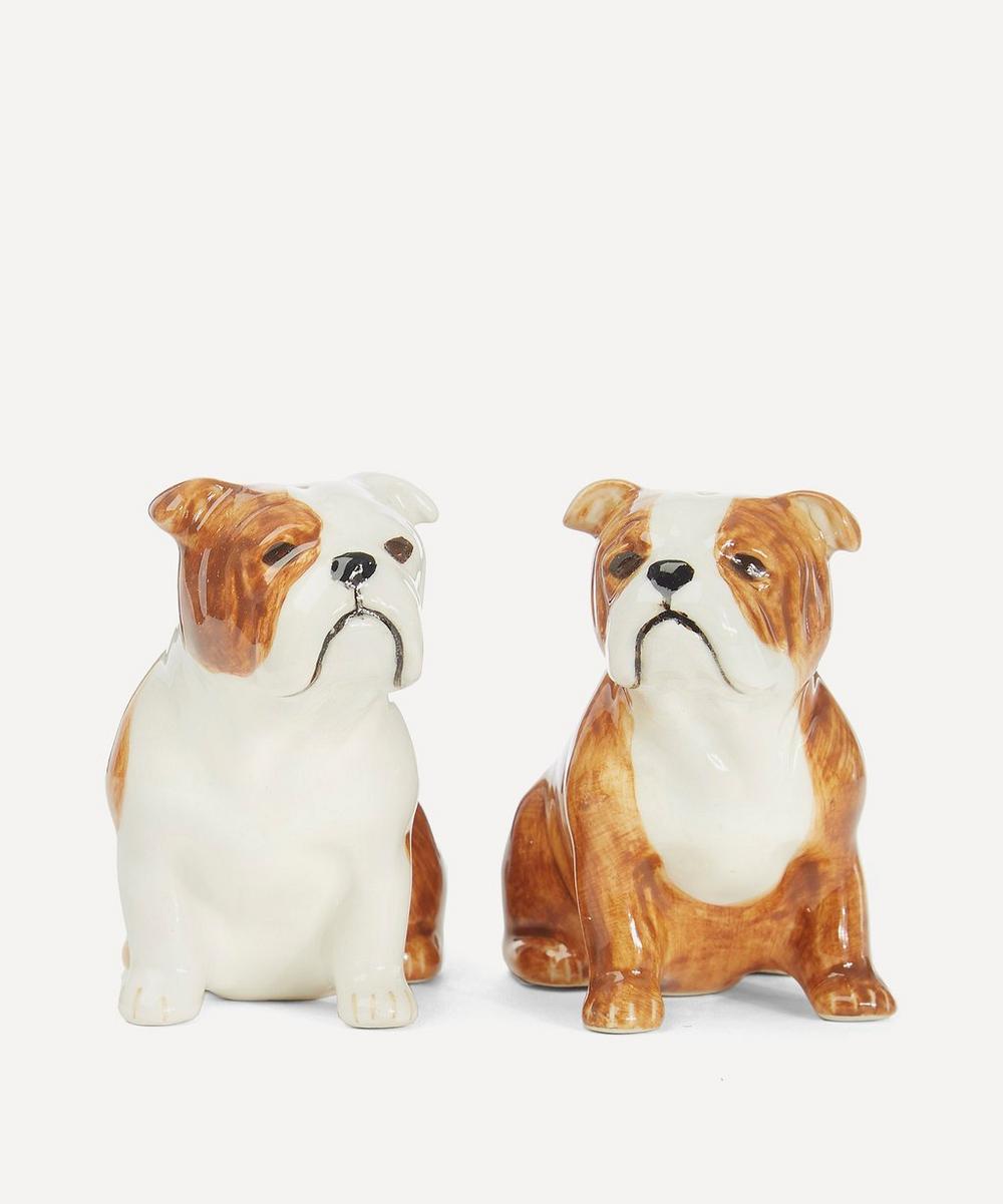 Quail - Bulldog Salt and Pepper Shakers