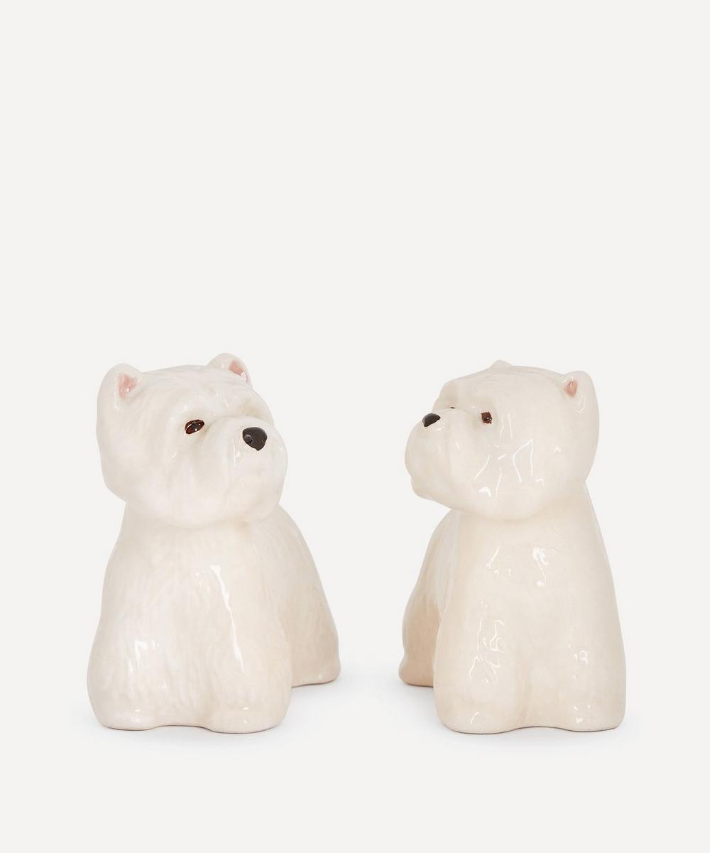 Quail - Westie Salt and Pepper Shakers