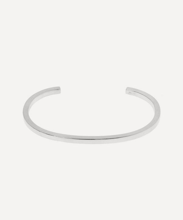 All Blues - Square Brushed 925 Silver Bracelet