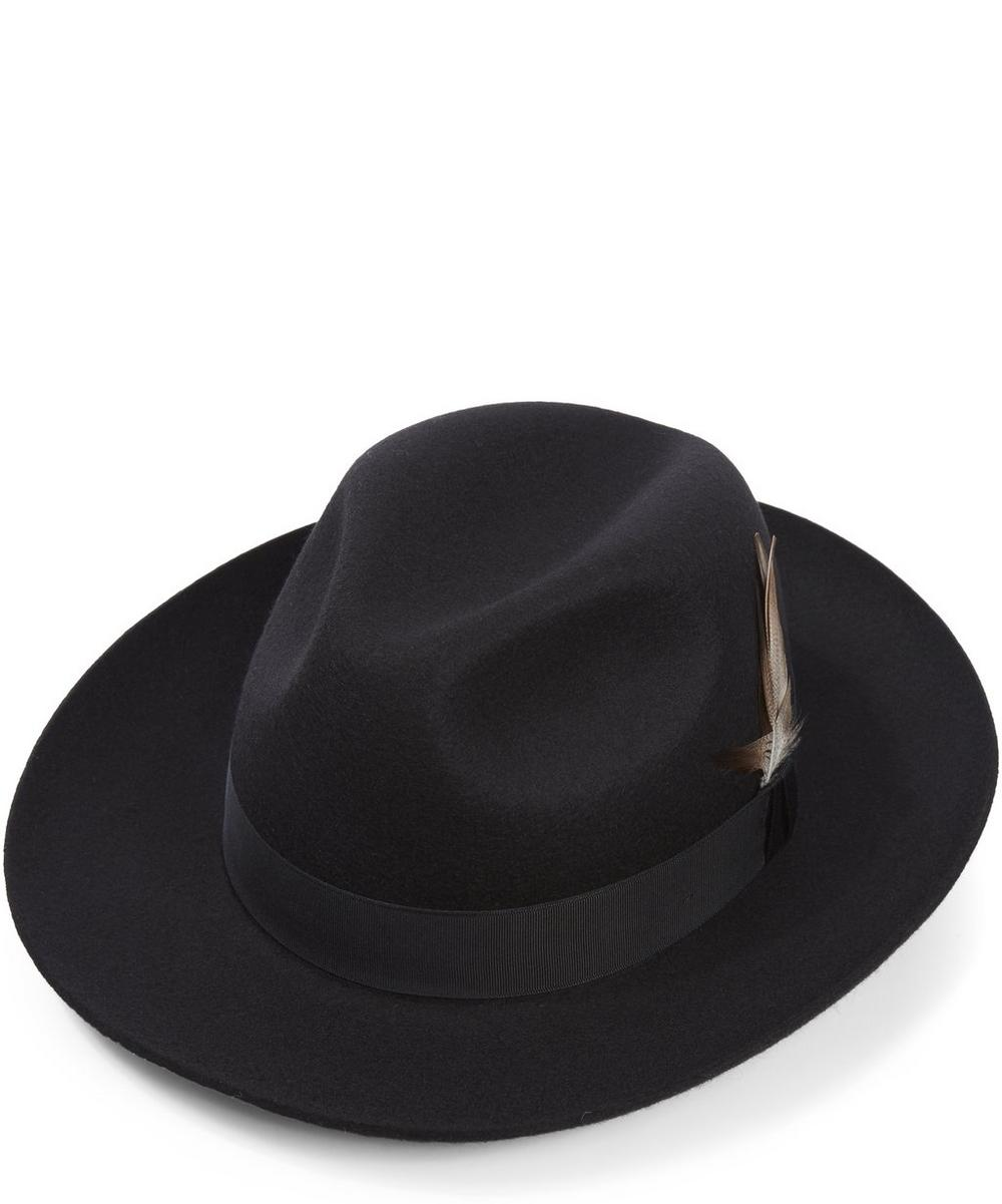 Christys' - Grosvenor Wool Felt Fedora Hat