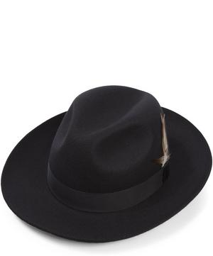 Grosvenor Wool Felt Fedora Hat