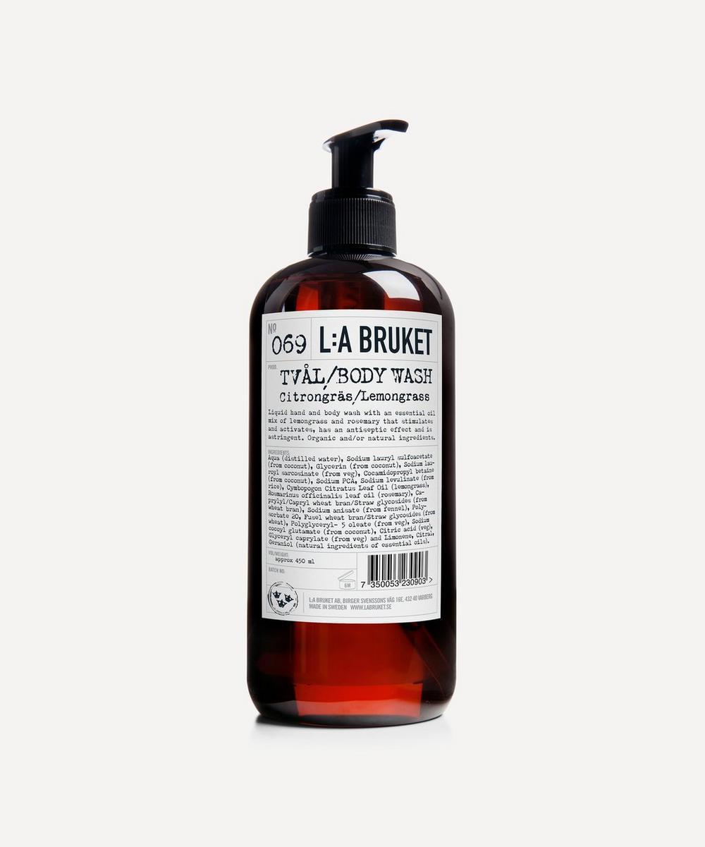 L:A Bruket - Lemongrass Liquid Soap 450ml