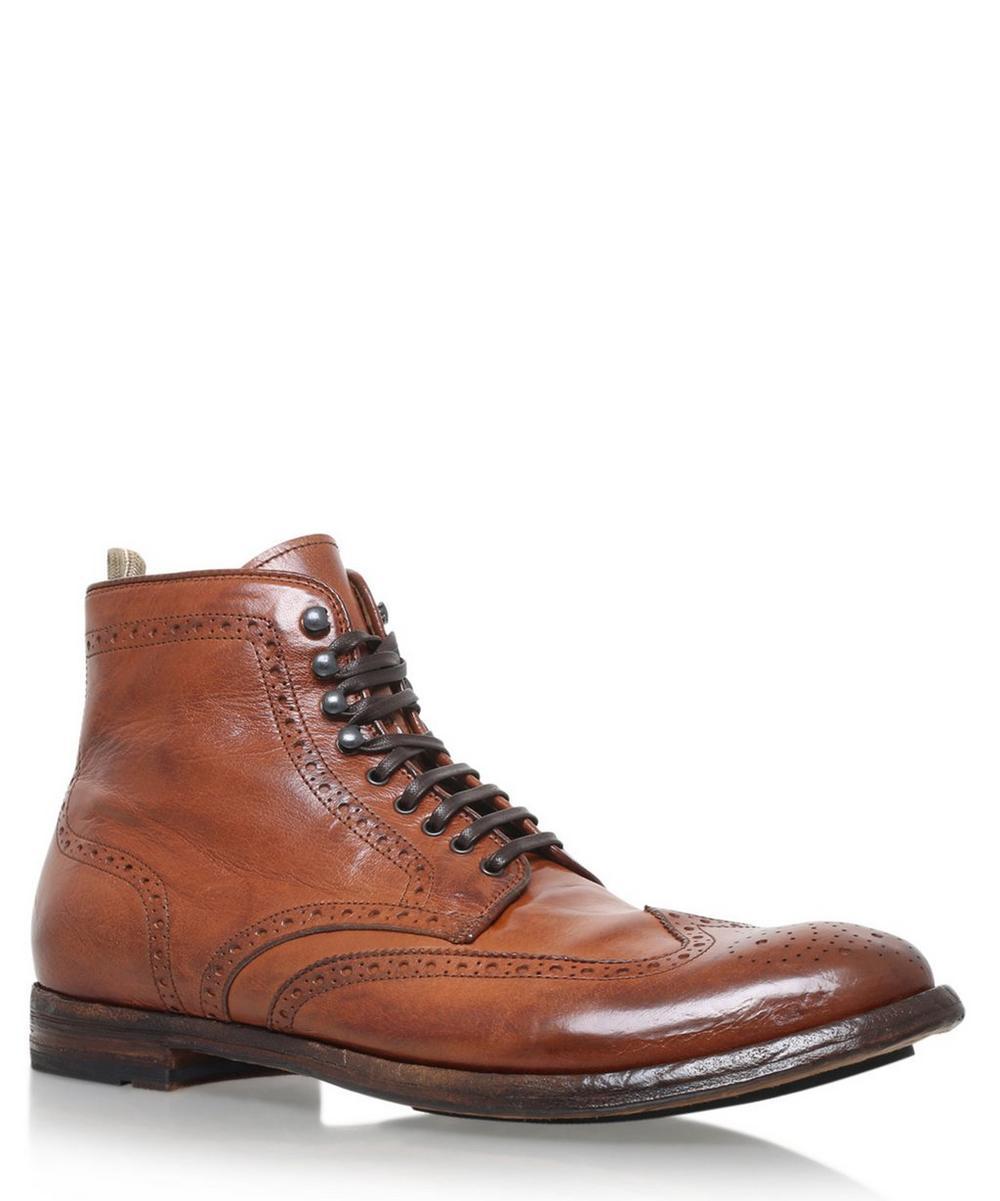 Officine Creative -  Wingtip Boots