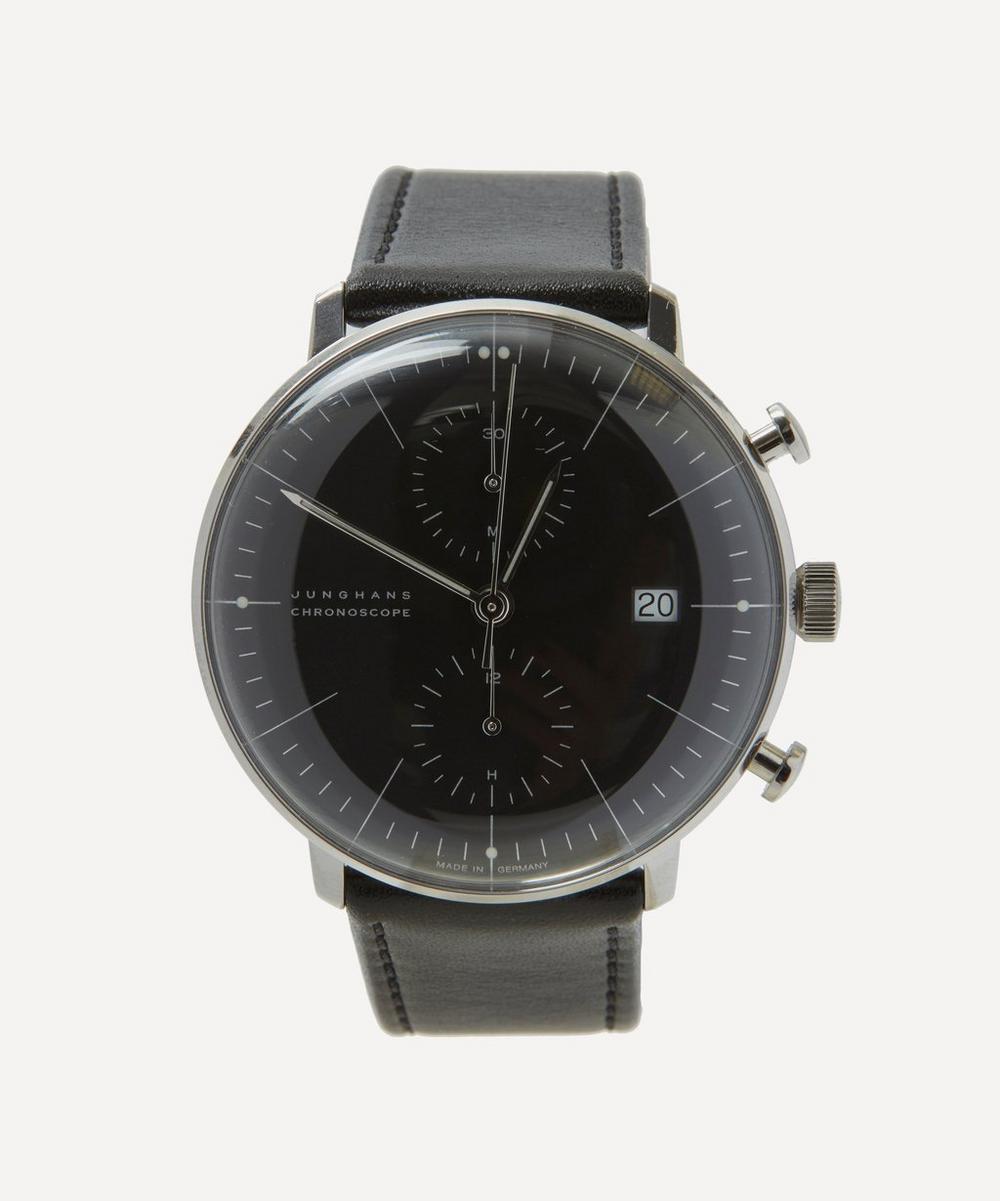 Junghans - 027/4601.00 Max Bill Chronoscope Watch