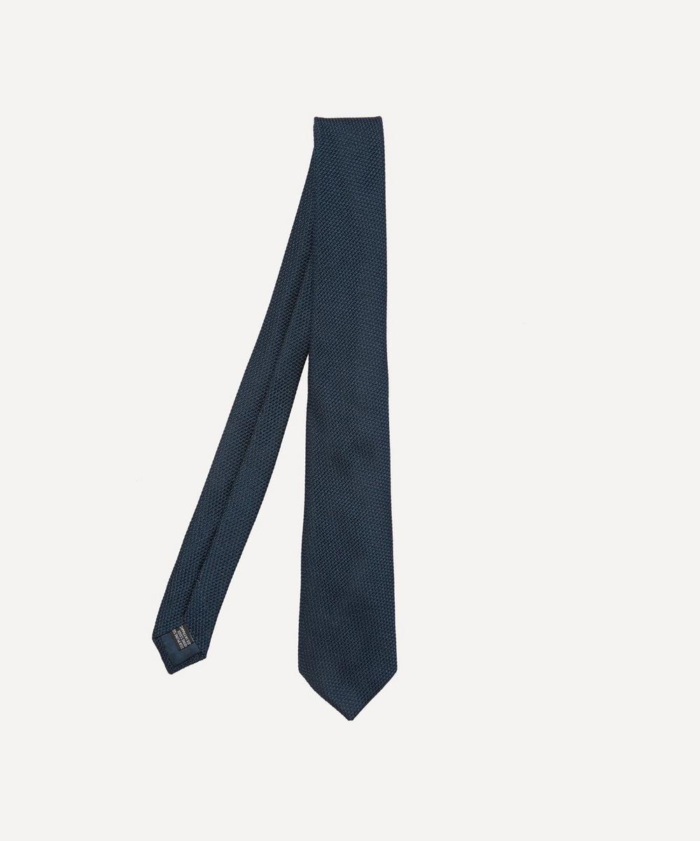 Lanvin - Knitted Birdseye Tie
