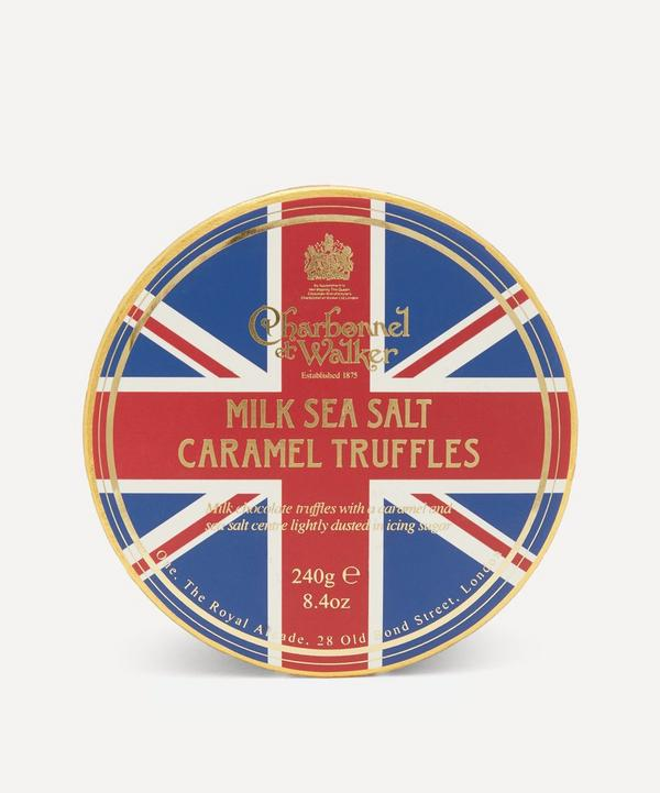 Charbonnel et Walker - Union Jack Milk Sea Salt and Caramel Truffles 240g