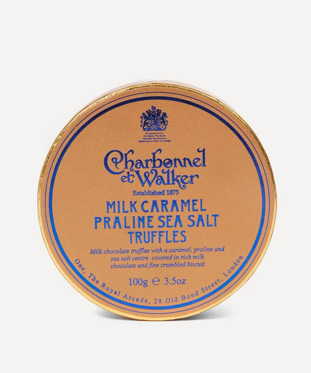 Charbonnel et Walker - Milk Caramel Praline Sea Salt Truffles 100g