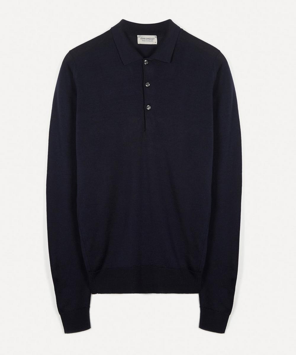John Smedley - Belper Merino Wool Polo-Shirt