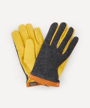 Tricot Deerskin Wool Gloves