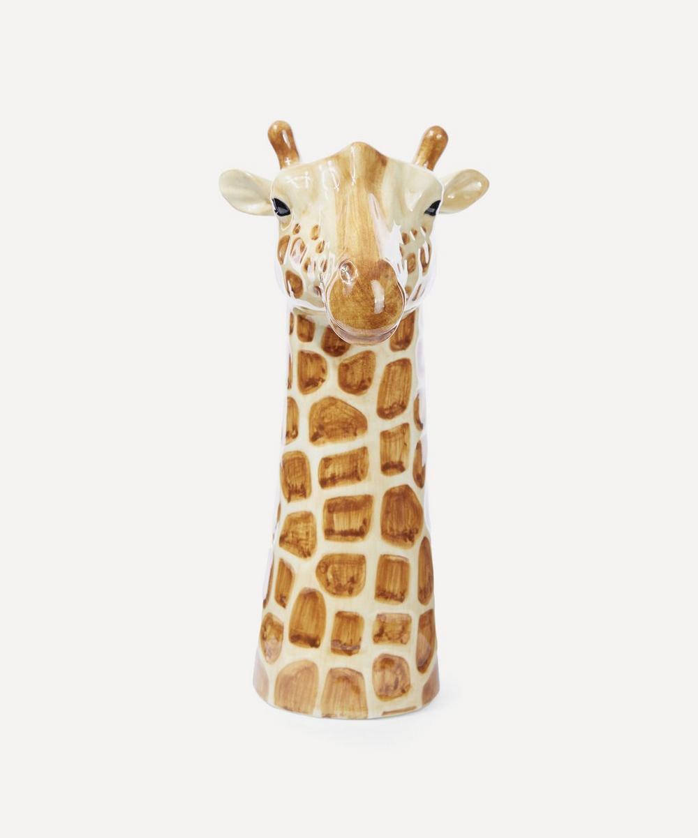 Quail - Large Giraffe Vase