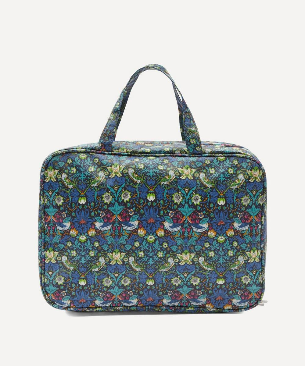 Liberty London - Weekender Strawberry Thief Wash Bag