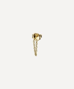 Medium Chain Wrap Stud Earring