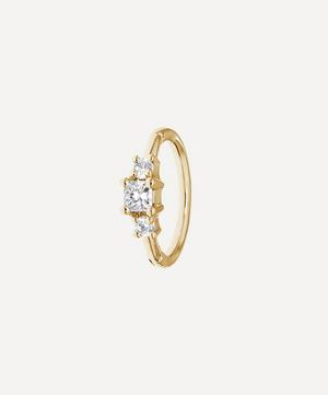 2mm Diamond Princess Ring