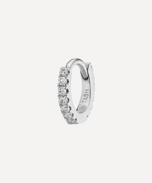 5mm Diamond Eternity Hoop Earring