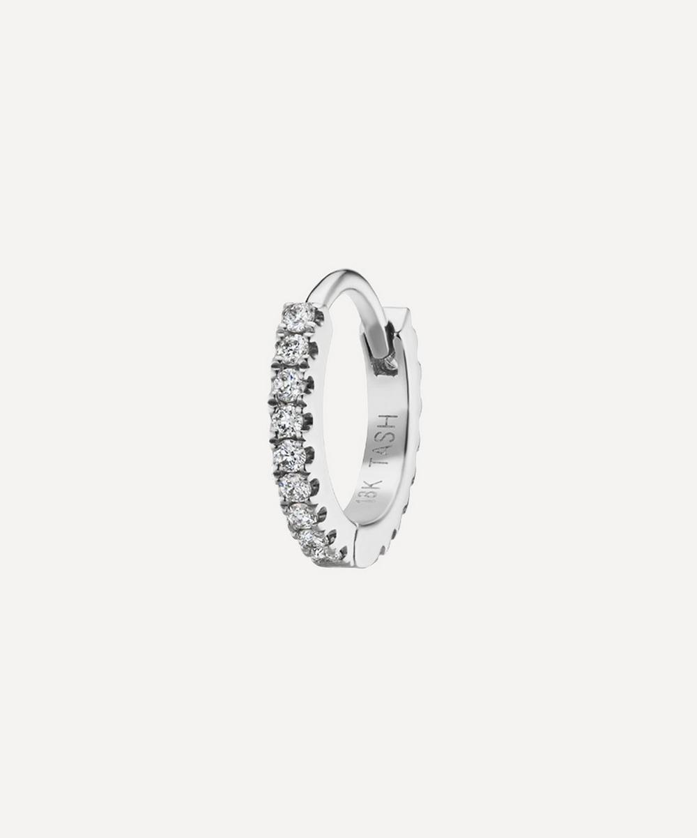 Maria Tash - 6.5mm Diamond Eternity Hoop Earring