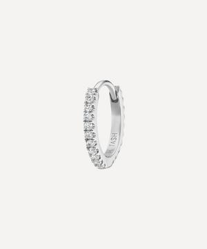 "5/16"" Diamond Eternity Hoop Earring"