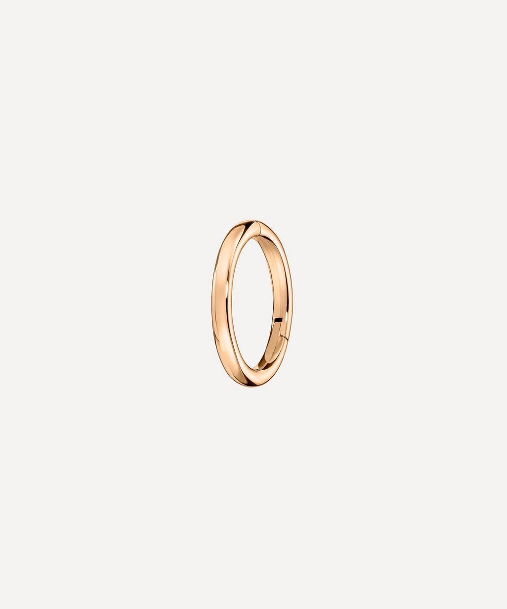 "Maria Tash - 1/4"" Plain Hoop Earring"