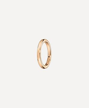 6.5mm Plain Hoop Earring